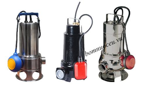 Các mẫu máy bơm chìm nước thải Beluno